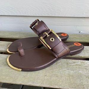 MICHAEL KORS Calder Buckle Sandal 9.5 NEW!
